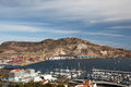 Port of Cartagena, Spain Stock Images