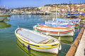The port of cassis south france Royalty Free Stock Photography