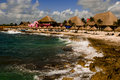 Port of Costa Maya Royalty Free Stock Photography
