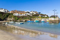 Port de Newquay Photographie stock libre de droits