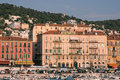 Port de Nice in French Riviera Stock Image