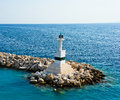 Port de Zakynthos un beau summerday. Photo stock