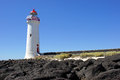 Port fairy australia lighthouse of Stock Images