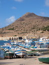 Port of Favignana, Sicily, Italy Royalty Free Stock Photo