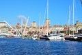 The port of Genoa Royalty Free Stock Photo