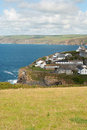 Port Isaac in Cornwall Royalty Free Stock Photography