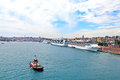 Port of Istanbul Royalty Free Stock Images