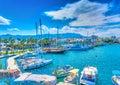 The port of Kos island Royalty Free Stock Photo