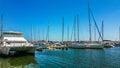 The Port Mangalia Romania Royalty Free Stock Photo
