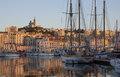 Port of Marseille - French Riviera Stock Images