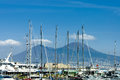 Port of Naples Royalty Free Stock Photo