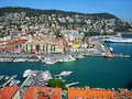 Port of Nice, Cote d'Azur, France Royalty Free Stock Photo