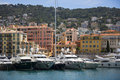 Port of Nice - Cote d'Azur - South of France. Stock Image