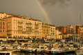 Port of Nice after the storm Royalty Free Stock Photos