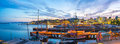 Port of Oslo city in Norway Royalty Free Stock Photo