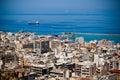 Port in Patra city, Greece Royalty Free Stock Photo