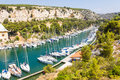 Port pin in the calanques of cassis south france Royalty Free Stock Images