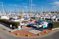 Port rimini particular dock Royalty Free Stock Photos