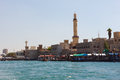 Port said on november in dubai uae uae the oldest commercial of Stock Images