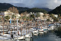 Port of Soller on Majorca Island, Spain Royalty Free Stock Photo