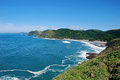 Port St Johns Transkei Coastline Stock Photo