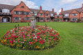 Port Sunlight Model English Village Houses Royalty Free Stock Photo