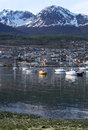 The port of Ushuaia Stock Image