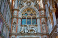Porta della Carta of the Doges Palace. Venice. Italy Royalty Free Stock Photo