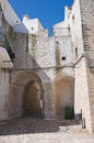Porta of monterrone ceglie messapica puglia italy perspective the Stock Photos