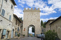 Porta Nuova. Assisi. Umbria. Stock Photo