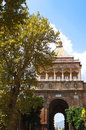 The Porta Nuova of Palermo in Sicily Royalty Free Stock Photography
