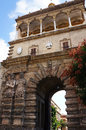 The Porta Nuova of Palermo in Sicily Royalty Free Stock Photos