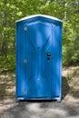 Porta Potty Stock Photo