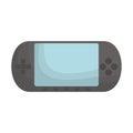 Portable console videogame