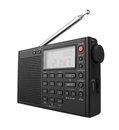 Portable digital radio isolated on white background Royalty Free Stock Photo