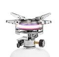 Portable gas burner isolated on white background Royalty Free Stock Photo