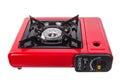 Portable gas stove Royalty Free Stock Photo