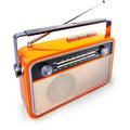 Portable radio high resolution rendering of an Stock Photography