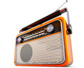Portable radio high resolution rendering of a Stock Photography