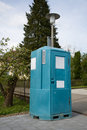 Portable toilet Royalty Free Stock Photos