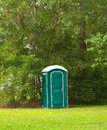 Portable Toilet Royalty Free Stock Photography