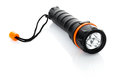 Portable waterproof flashlight Stock Image