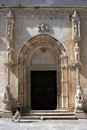 Portal on St. Jacob Cathedral Royalty Free Stock Photo