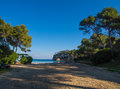 Portals vells beach in mallorca a picture from a small the south of majorca near palma Royalty Free Stock Photo