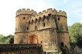 Porte des allemans in metz medieval bridge castle the germans gate Royalty Free Stock Image