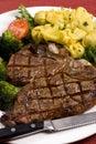 Porterhouse Steak 006 Royalty Free Stock Photo