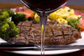 Porterhouse Steak 007 Royalty Free Stock Photo
