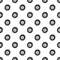 Porthole pattern vector seamless