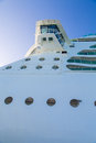 Portholes and crows next on cruise ship details a modern luxury Royalty Free Stock Photography