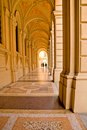 Porticoes in Bologna, Italy Royalty Free Stock Image